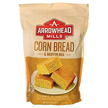 Amazon Com Arrowhead Mills Mix Corn Bread And Muffin 20