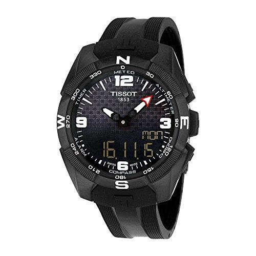 tissot-mens-t-touch-expert-swiss-quartz-titanium-and-silicone-dress-watch-colorblack-model-t09142047