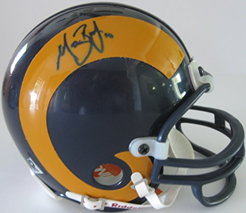 (Marc Bulger, St Louis Rams, LA Rams, Signed, Autographed, Mini Helmet, a COA Will Be Included)