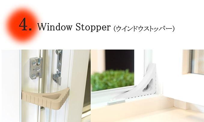 Doorstop and Windowstop BEIGE Blockystar