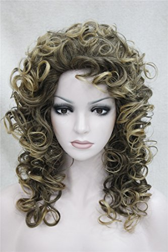 Kalyss Womens Curly Blonde Color product image