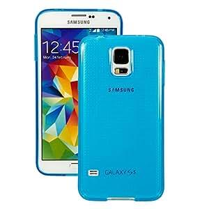Mzamzi - Gran valor caso protector delgado estupendo de tpu para samsung i9600 s5 dark blue