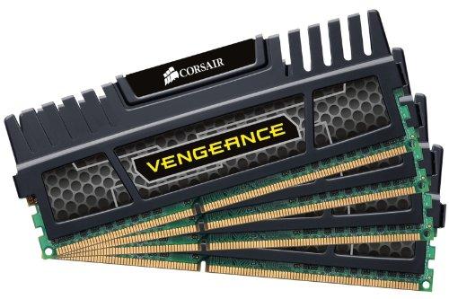Corsair Vengeance 16GB Quad Channel DDR3 Memory Kit (4x 4GB)