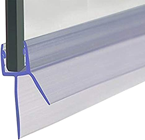 Cozylkx Frameless Shower Door Bottom Seal With Drip Rail 5 16