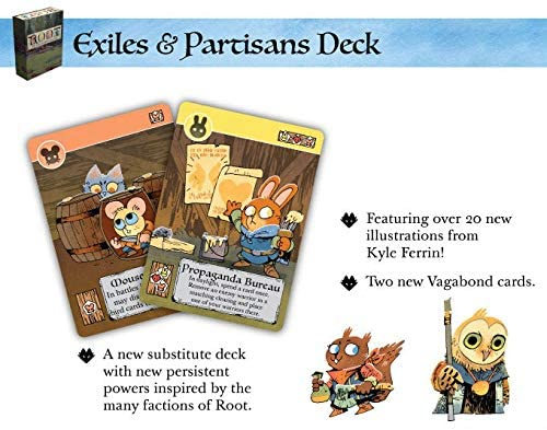 Leder Games: Root - The Exiles and Partisans Deck: Amazon.es: Juguetes y juegos