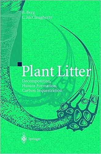 Plant Litter: Decomposition, Humus Formation, Carbon Sequestration