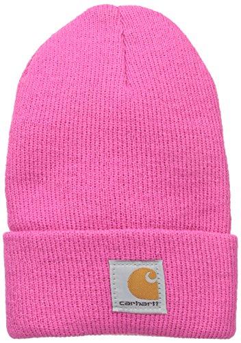 Carhartt Youth Toddler Girls' Acrylic Watch Hat, Raspberry Rose