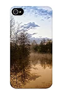 Ideal Inthebeauty Case Cover For Iphone 4/4s(nature Forests Rivers ), Protective Stylish Case