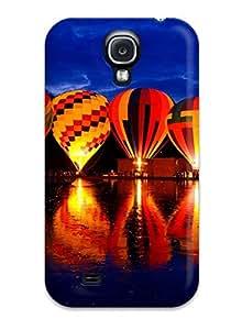 Cleora S. Shelton's Shop 9883361K50484637 Premium Protection Balluminaria Hot Air Balloon Glow Festival Case Cover For Galaxy S4- Retail Packaging
