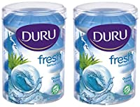 Duru Fresh Sensations Body Wash, Ocean Breeze, 2 Count