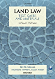 Land Law: Text, Cases, and Materials (Text, Cases And Materials)
