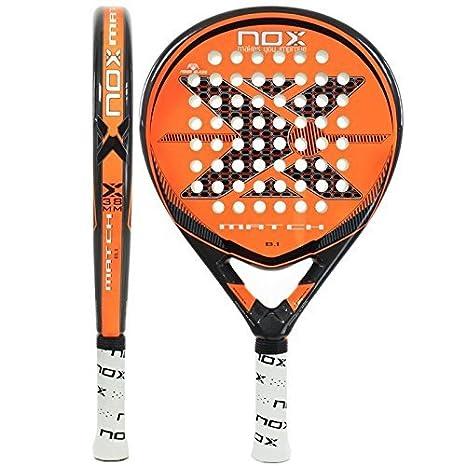 Nox Match B.1 Padel Racket by NOX: Amazon.es: Deportes y aire libre