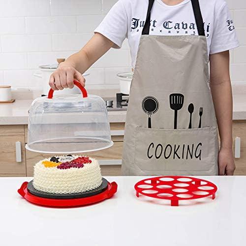 Cupcake Holder Dessert Serving Platter Cake Carrier Cover Cupcake Muffin Carrier Cake Stand