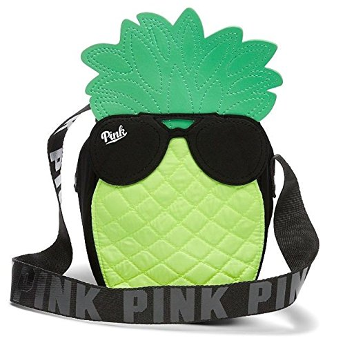 Victoria's Secret Pink Insulated Cooler Tote Bag, Pineapple/Sunglasses, Limited ()
