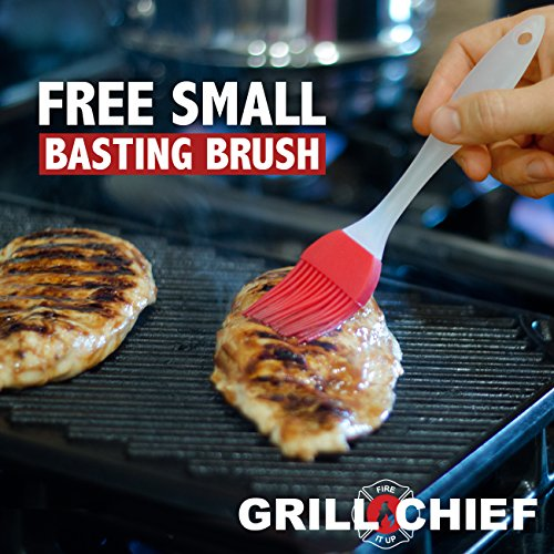 Bbq Grill Brush By Grill Chief 174 18 Quot 3 Stainless Steel