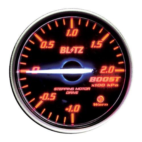 Blitz Racing Meter Sd φ52 Boost Meter Red 19591
