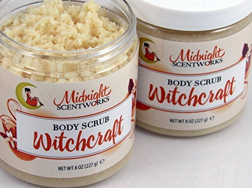 Sugar Scrub with Shea and Cocoa Butter, Body Scrub Witchcraft - Compare to Love Spell by Midnight Scentworks