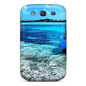 RachelMHudson Snap On Hard Case Cover Kuda Huraa Maldives Protector For Galaxy S3