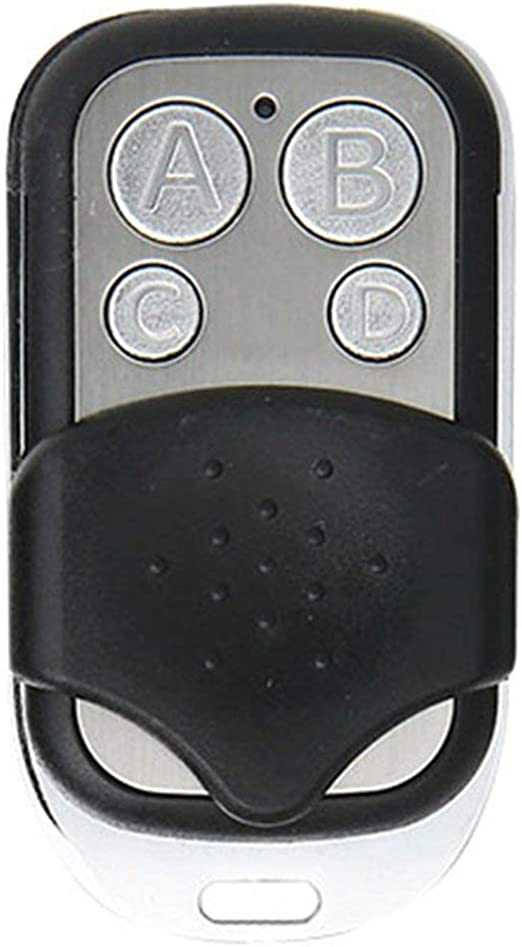 Wireless RF Remote Control 433 MHz Electric Gate Garage Door Key Controller//W