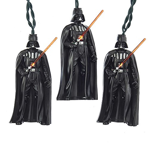 Kurt Adler 10-Light Darth Vader Full Body Light (Darth Vader Lights)