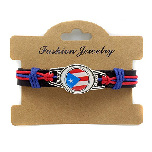 Sykdybz 100% Hand Woven Leather Corto Leather Soccer Bracelet in Puerto Rico.