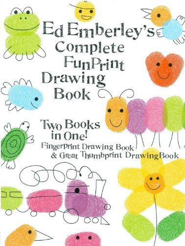 Ed Emberley's Complete Funprint Drawing Book (Turtleback School & Library Binding Edition) from Turtleback