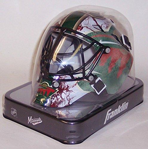 Minnesota Wild Franklin Sports NHL Mini Goalie Mask - New in Box Franklin Mask