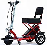 Triaxe Sport Foldable Scooter - Color Metallic Red - 18'' Seat Width