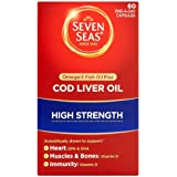 Seven Seas High Strength Cod Liver Oil One A Day 60 Capsules