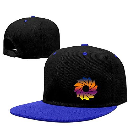 Loading Wheel Adjustable Snapback Hat Flat Brim Hip-Hop -