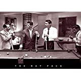 Rat Pack Shooting Pool Art Print Poster Poster Print, 36x24 Movie Poster Print, 36x24