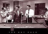 Decorate your home or office with high quality posters. Rat Pack Shooting Pool Art Print Poster Poster Print, 36x24 is that perfect piece that matches your style, interests, and budget.