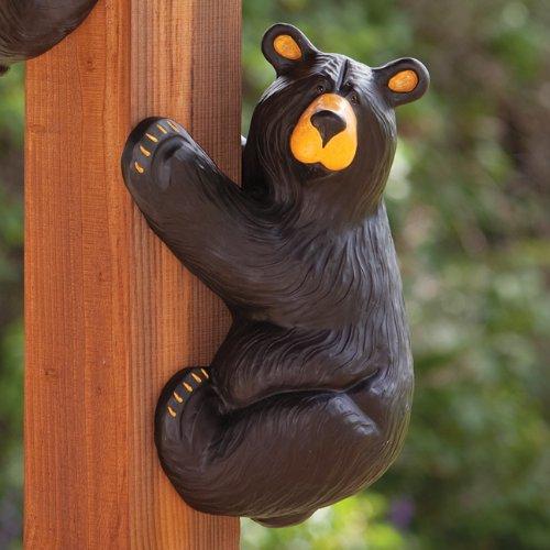 Righty Climbing Black Bear - Rustic Decor