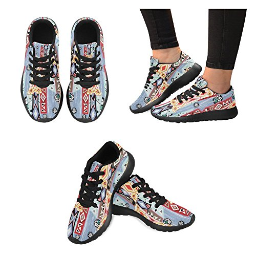 InterestPrint Womens Road Running Shoes Jogging Lightweight Sports Walking Athletic Sneakers e1480chV