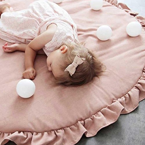 Leegor Baby Infant Creeping Mat Cartoon Playmat Blanket Play Game Mat Room Decoration Photography Props (H) by Leegor (Image #2)