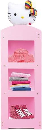 Estantería de color rosa de los niños los niños percha Balcón ...