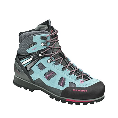 Mammut Ayako High GTX Backpacking Boot - Women's Dark Air/Magenta, 9.0 by Mammut