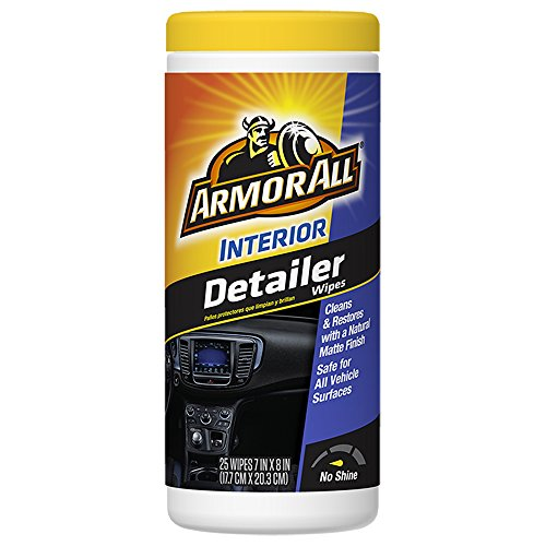 Armor All Interior Detailer Wipes (25 count), 14540B