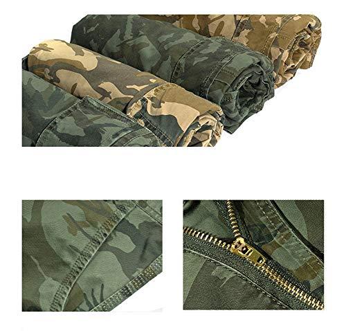 Taglia Uomo Tipo 2 Multi Abbigliamento Estate Di Armatura 2 Colori Casual Pantaloncini Cargo Tasche Festivo 10 Pantaloni Lavoro Short Outdoor Mimetici K3FTJcl1