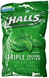 Cheap Halls, Triple Soothing Action Cough Suppressant Drops, Spearmint – 30 ea