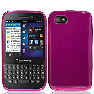 Pink Flex Cover Case for BlackBerry Q5