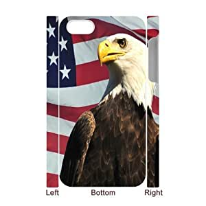 VNCASE American Flag Phone Case For Iphone 5C [Pattern-1]