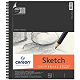 "Canson Artist Series Universal Sketch Pad, 9""X12"" Side Wire (Misc.)"
