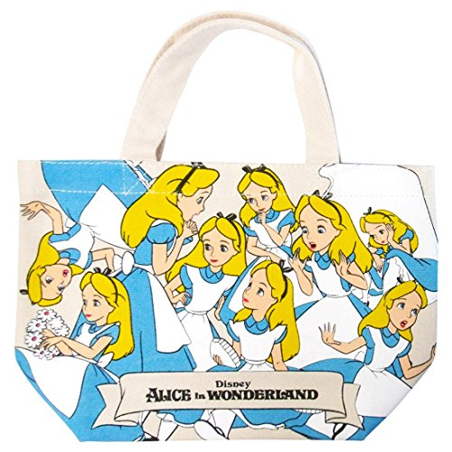 Alice In Wonderland Makeup (Disney Alice in Wonderland Mini Tote Bag APDS2282(Japan Import))