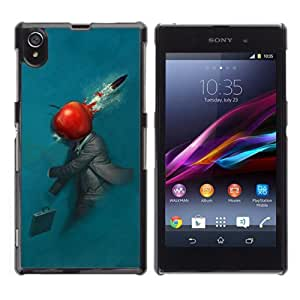 YOYOSHOP [Abstract Apple] Sony Xperia Z1 L39h Case