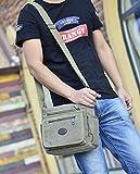 Toniker Canvas Small Messenger Bag Casual
