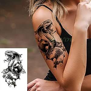 5Pcs-Waterproof Tattoo Sticker Flower Symbol Triangle Arm Tattoo ...