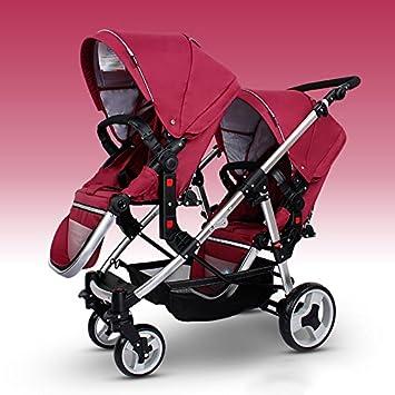 Amazon.com: Multifunción Baby Stroller para gemelos, Gemelos ...