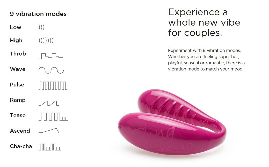 Fling by We-Vibe Intimate Massager for Couples