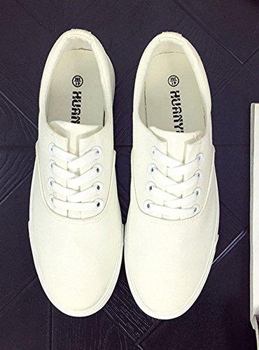 Plat Homme de Aisun Sneakers Blanc Talon Sport Homme Aisun Chaussures q0FxnqEZ